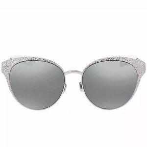 Authentic Dior round sunglasses with case